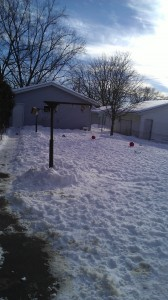 Blindscaping with Snow Banks